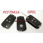 OPEL PCF7941A ключі.